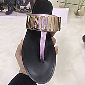 Moschino shoes for Moschino Slippers for Women #443900