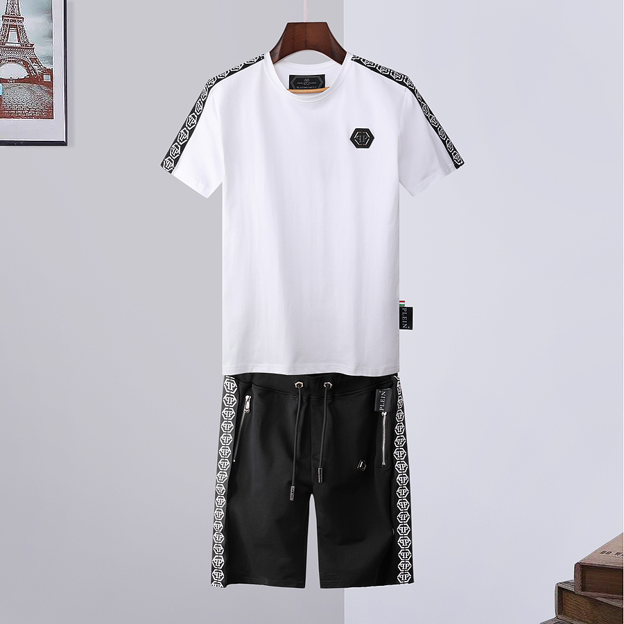 PHILIPP PLEIN Tracksuits for PHILIPP PLEIN Short tracksuits for men #446586 replica