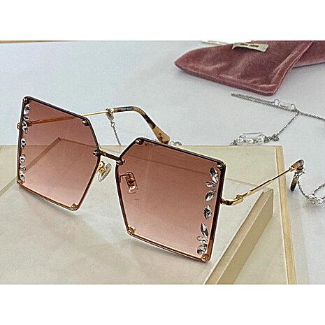 MIUMIU AAA+ Sunglasses #448970