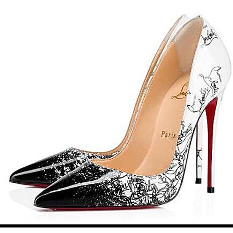SPECIAL OFFER christian louboutin 12cm high heeled shoes for women  Size:US9=EUR41 #451008 replica