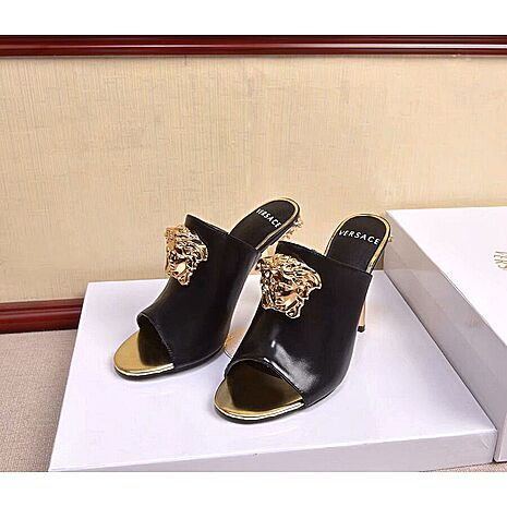 VERSACE 10cm High-heeled shoes for women #451705 replica