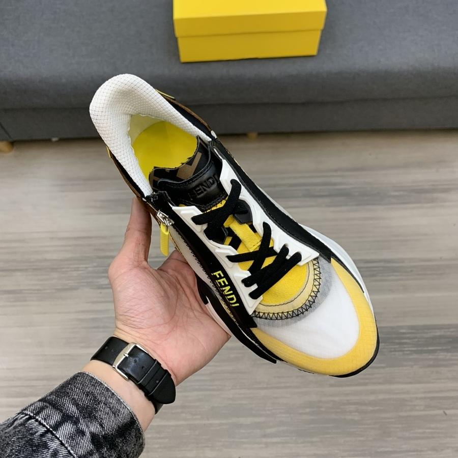 Fendi shoes for men #451673 replica