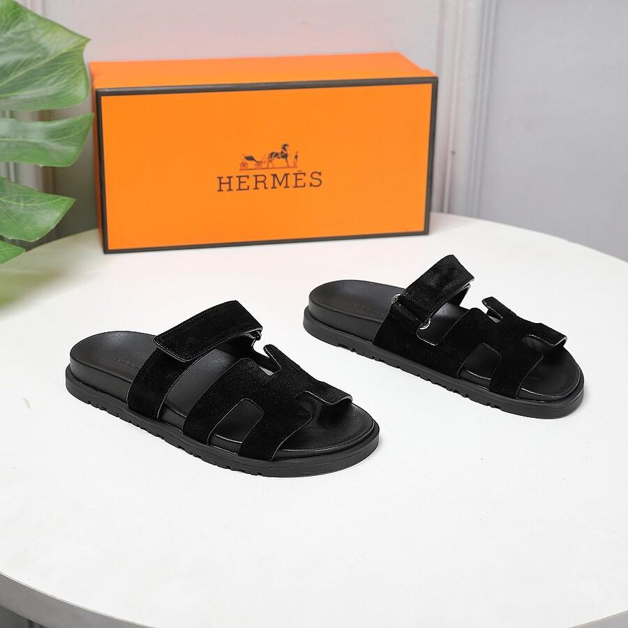 HERMES Shoes for Men's HERMES Slippers #451761 replica