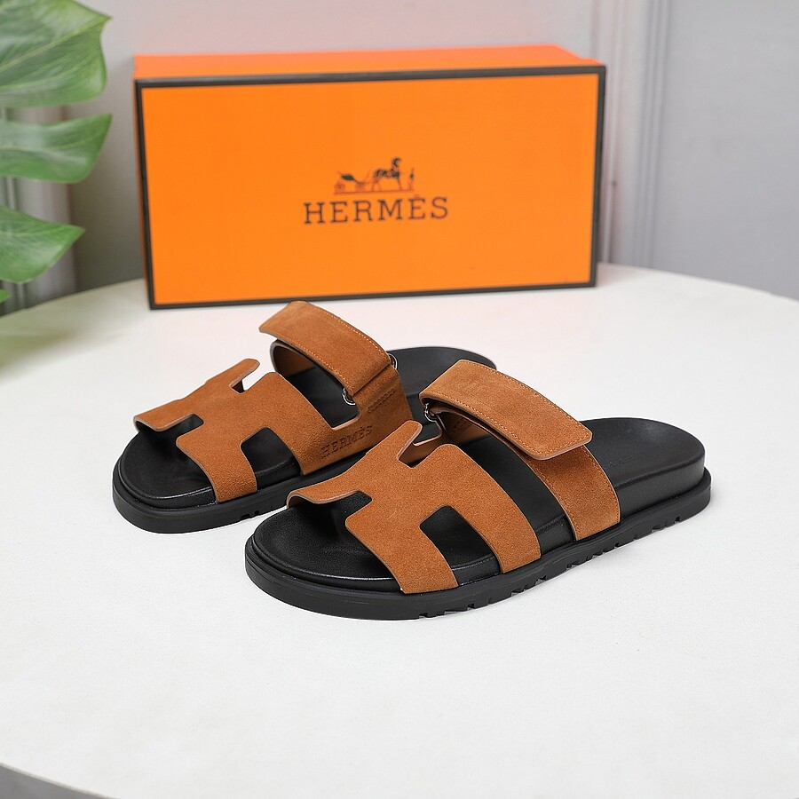HERMES Shoes for Men's HERMES Slippers #451762 replica