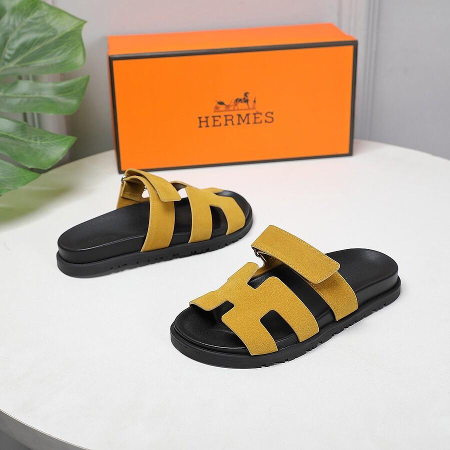 HERMES Shoes for Men's HERMES Slippers #451763 replica