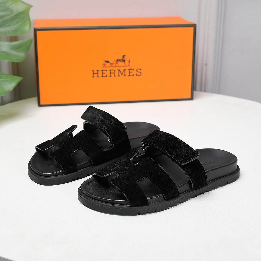 HERMES Shoes for HERMES slippers for women #451769 replica