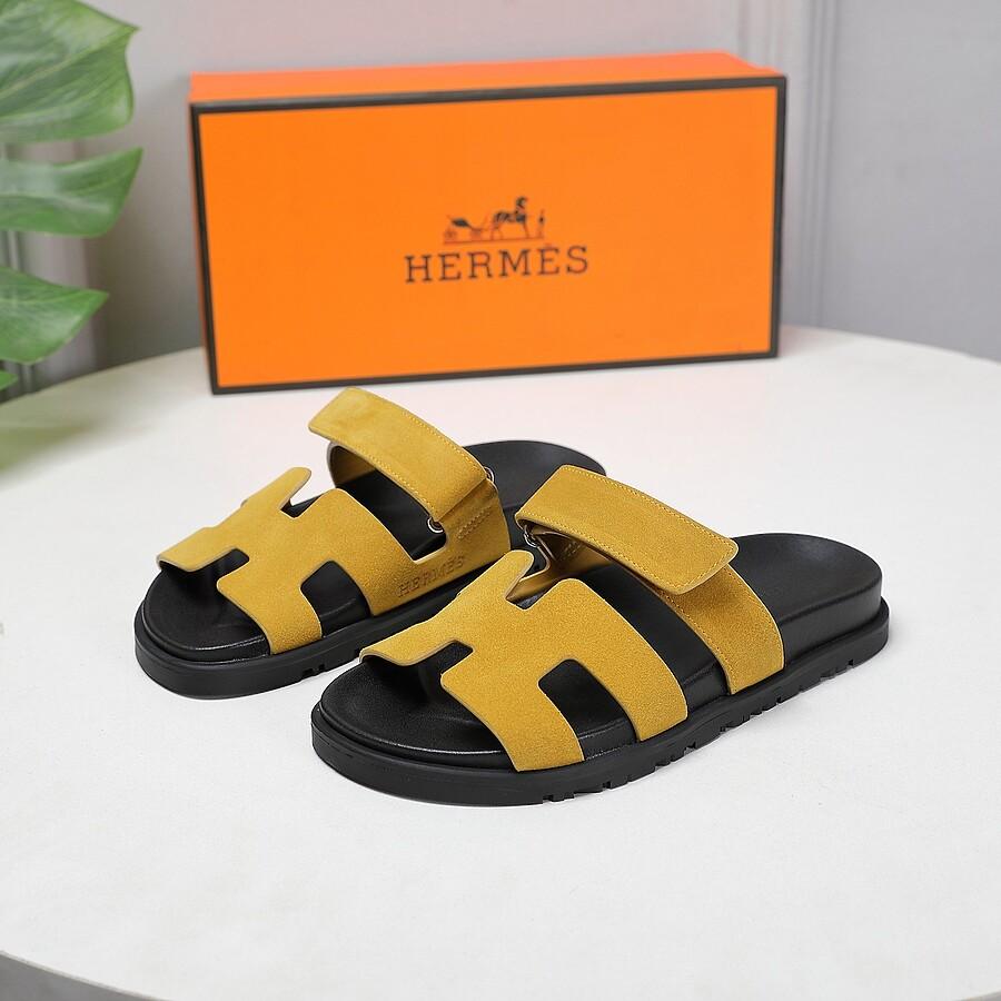 HERMES Shoes for HERMES slippers for women #451771 replica