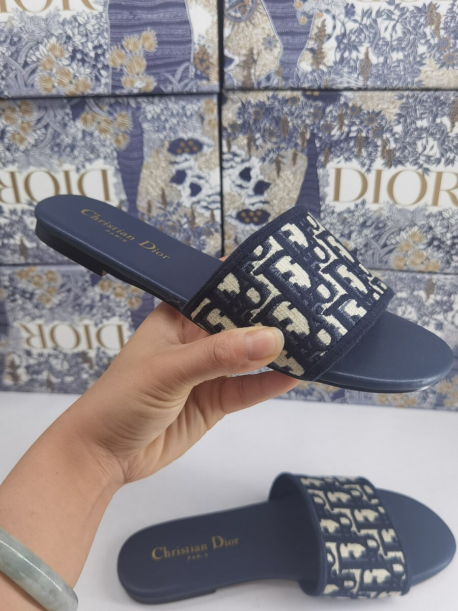 Dior Shoes for Dior Slippers for women #451878 replica