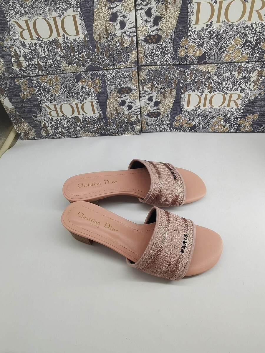 Dior 5cm high heeled shoes for women #451889 replica