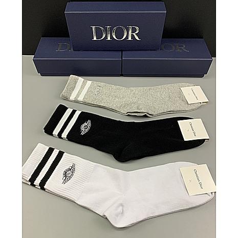 Dior Socks 3pcs sets #452659