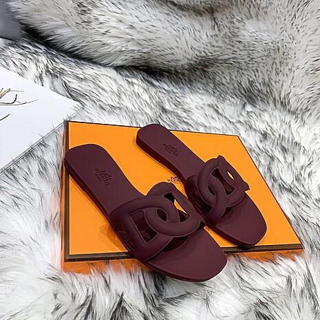 HERMES Shoes for HERMES slippers for women #455418 replica