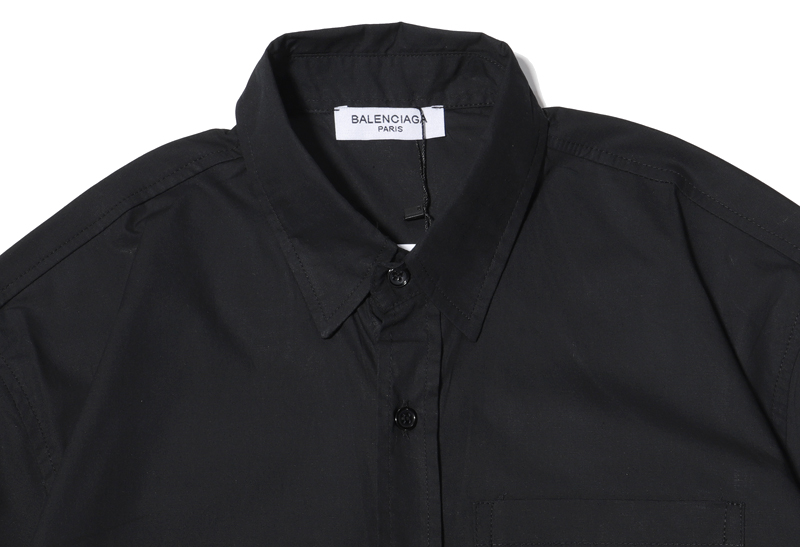 Balenciaga Shirts for Balenciaga short sleeved shirts for men #455280 replica
