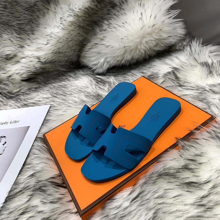 HERMES Shoes for HERMES slippers for women #455412 replica