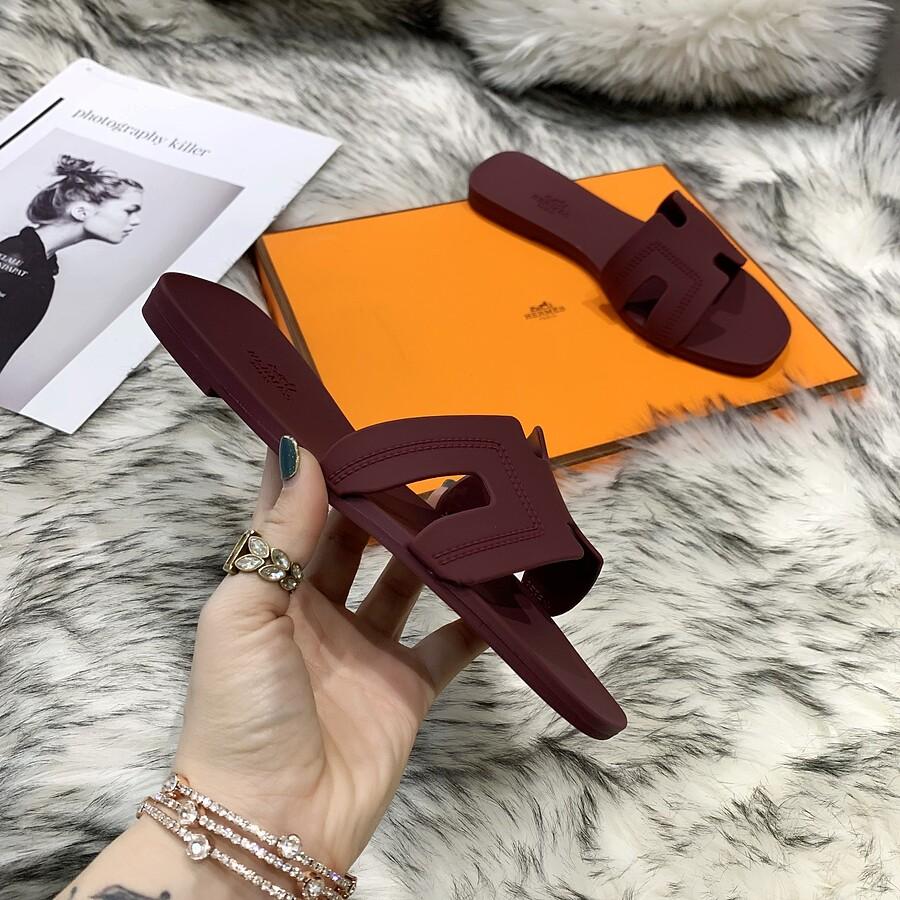 HERMES Shoes for HERMES slippers for women #455413 replica