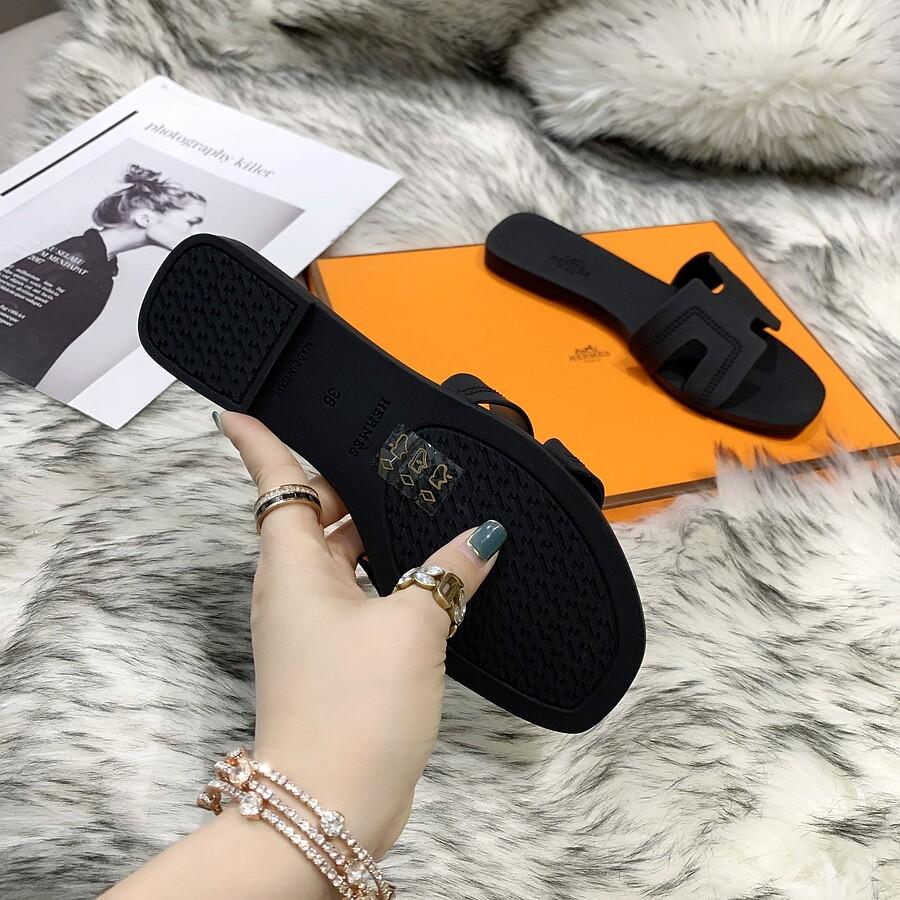 HERMES Shoes for HERMES slippers for women #455414 replica