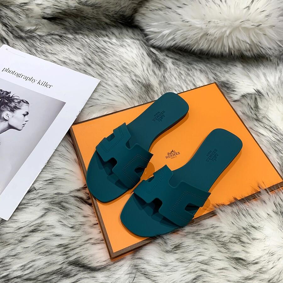 HERMES Shoes for HERMES slippers for women #455415 replica