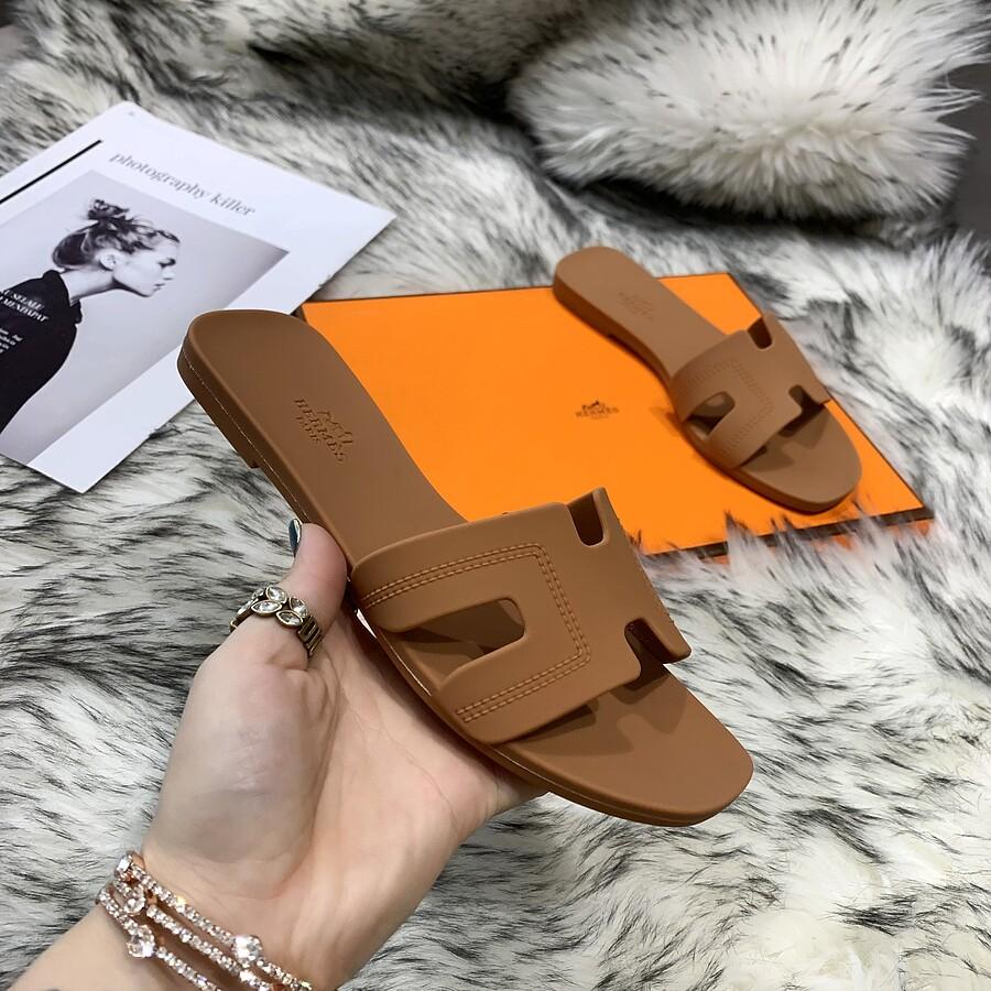 HERMES Shoes for HERMES slippers for women #455416 replica
