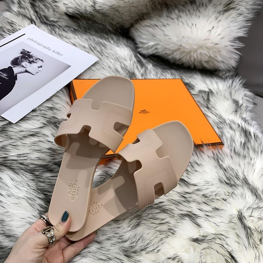 HERMES Shoes for HERMES slippers for women #455417 replica