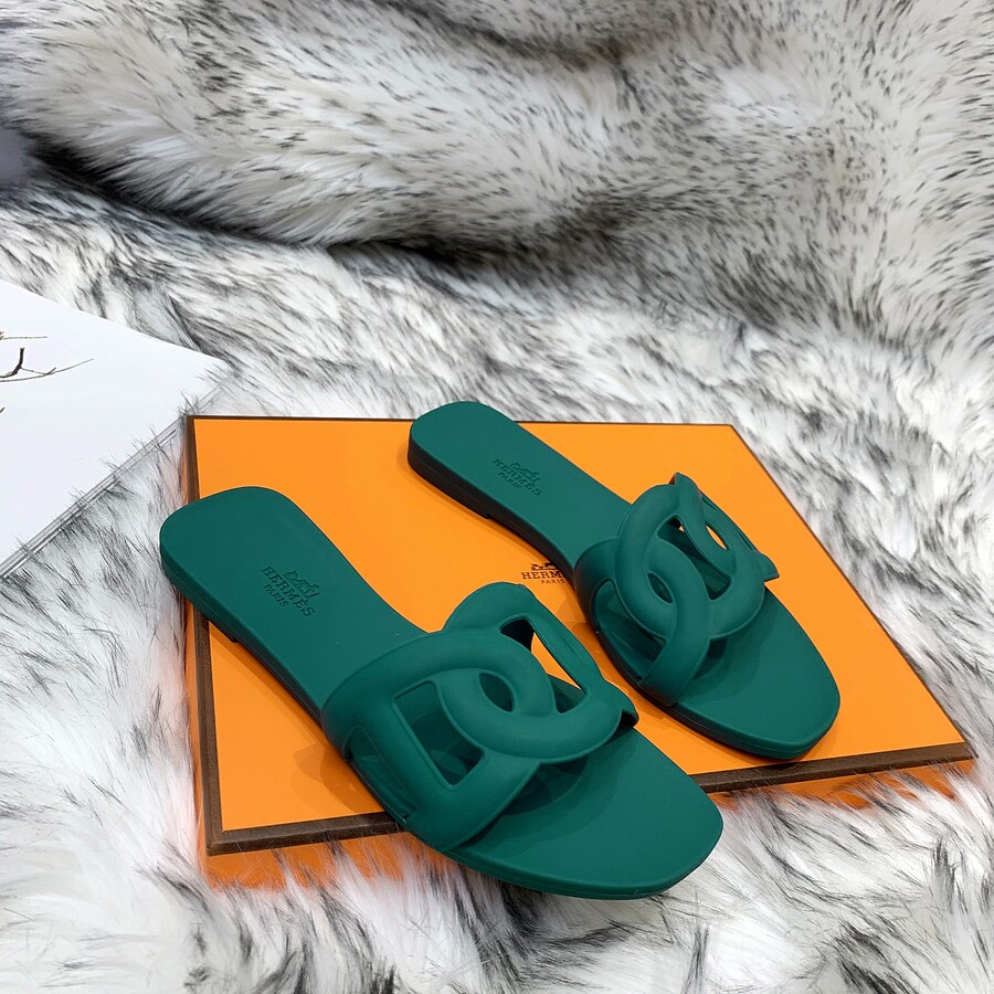 HERMES Shoes for HERMES slippers for women #455419 replica