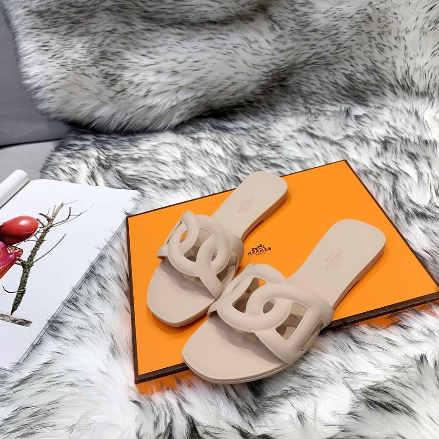 HERMES Shoes for HERMES slippers for women #455420 replica