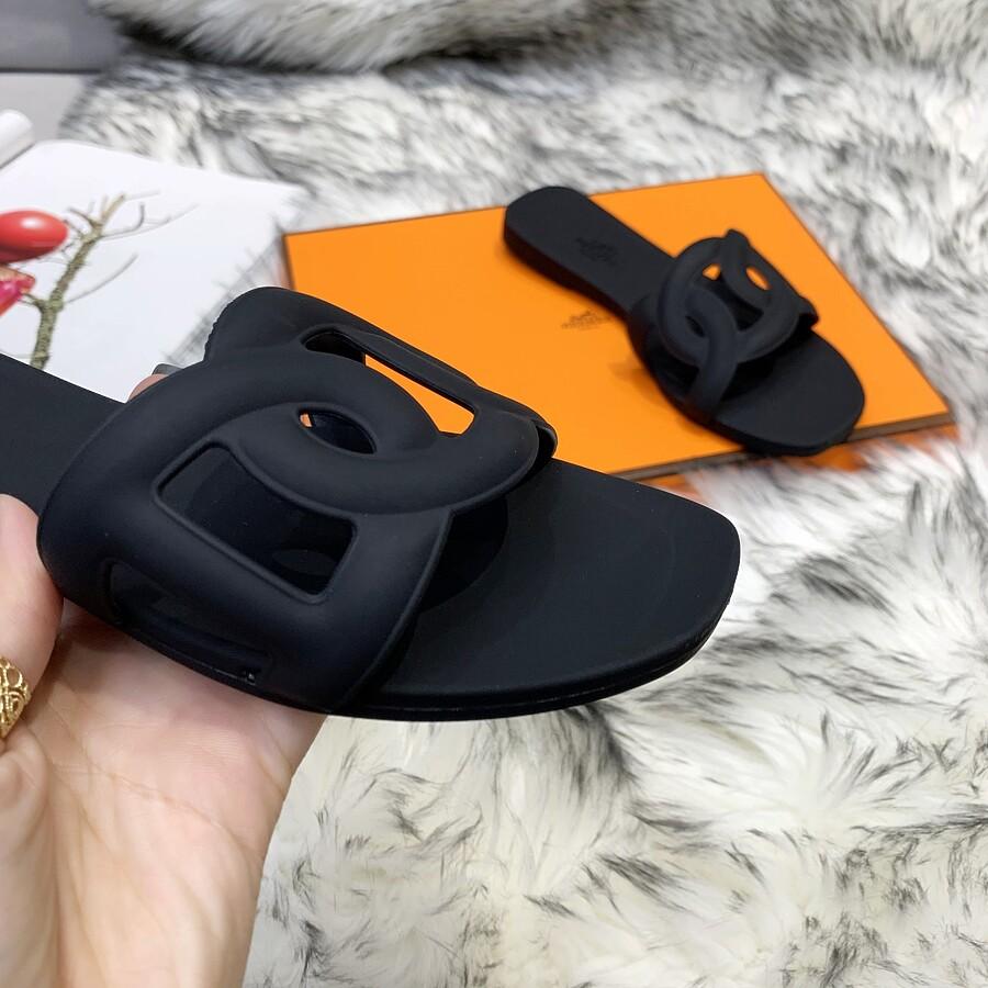 HERMES Shoes for HERMES slippers for women #455421 replica