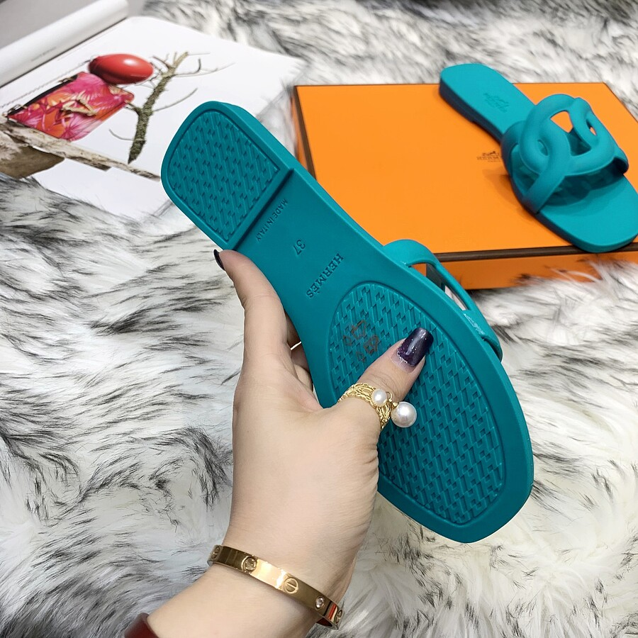 HERMES Shoes for HERMES slippers for women #455423 replica