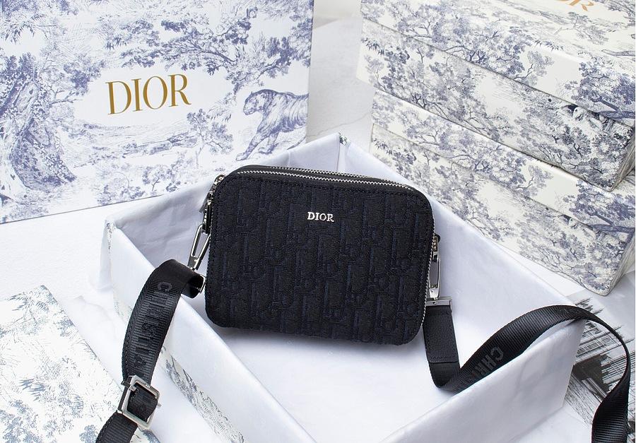 SAFARI MESSENGER BAG Black Dior Oblique Jacquard AAA+ 1ESPO206YKY_H10E replica
