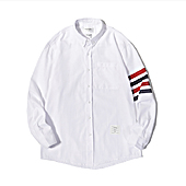 THOM BROWNE Shirts for THOM BROWNE Long-Sleeved Shirt for men #454959