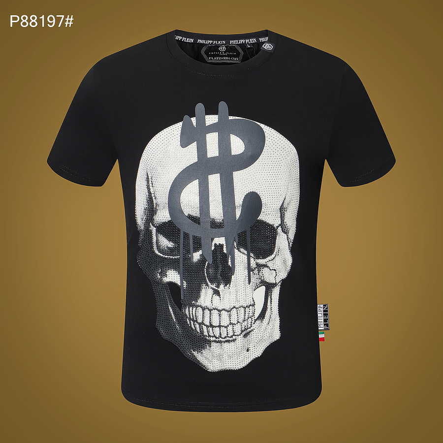 PHILIPP PLEIN  T-shirts for MEN #456739 replica