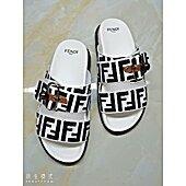 Fendi shoes for Fendi Slippers for men #456773