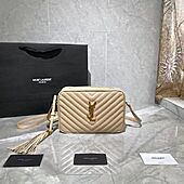 LOU CAMERA BAG IN QUILTED LEATHER IVORY NATURAL Original Samples 612544DV7079141