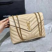 LOULOU MEDIUM BAG IN Y-QUILTED LEATHER Original Samples 574946DV7272721