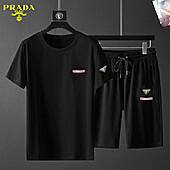 Prada Tracksuits for Prada Short Tracksuits for men #459459