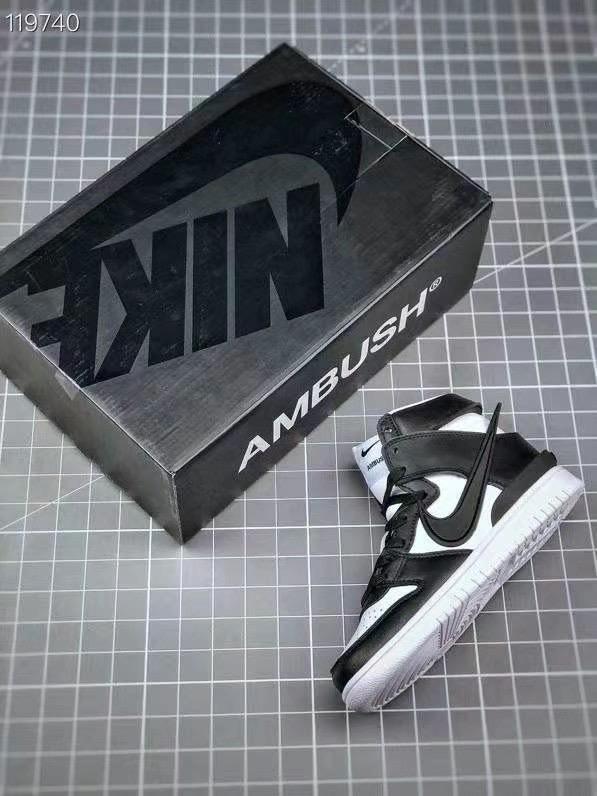 AMBUSH x Nike Dunk High Shoes for men #460141 replica