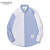 THOM BROWNE Shirts for THOM BROWNE Long-Sleeved Shirt for men #460824