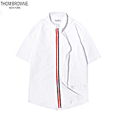 THOM BROWNE Shirts for THOM BROWNE Long-Sleeved Shirt for men #461348