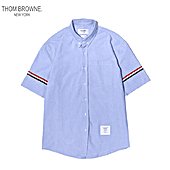THOM BROWNE Shirts for THOM BROWNE Long-Sleeved Shirt for men #461349