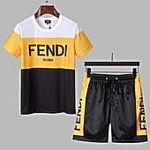 Fendi Tracksuits for Fendi Short Tracksuits for men #463772