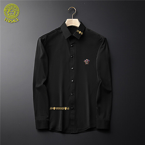 Versace Shirts for Versace Long-Sleeved Shirts for men #465725 replica