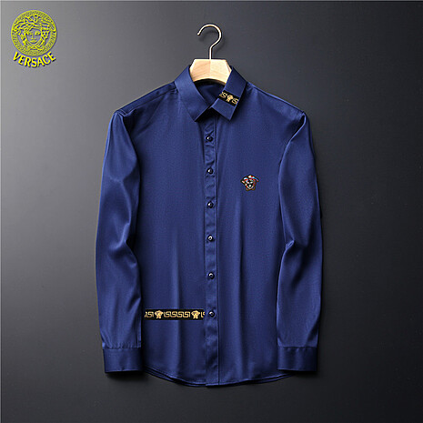 Versace Shirts for Versace Long-Sleeved Shirts for men #465726 replica