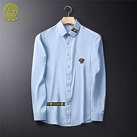 Versace Shirts for Versace Long-Sleeved Shirts for men #465727 replica