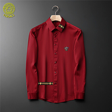Versace Shirts for Versace Long-Sleeved Shirts for men #465728 replica