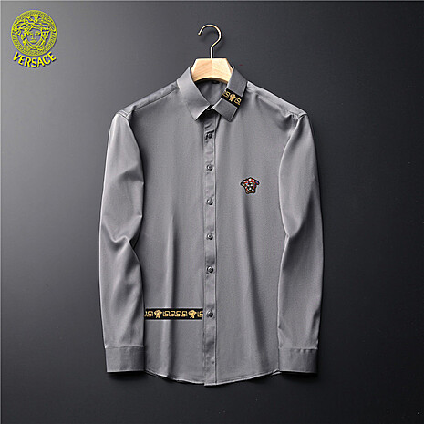 Versace Shirts for Versace Long-Sleeved Shirts for men #465729 replica