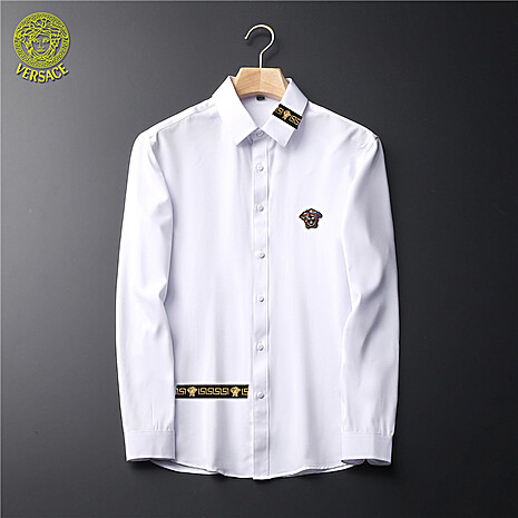 Versace Shirts for Versace Long-Sleeved Shirts for men #465730 replica