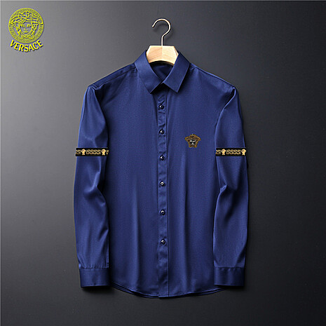 Versace Shirts for Versace Long-Sleeved Shirts for men #465731 replica