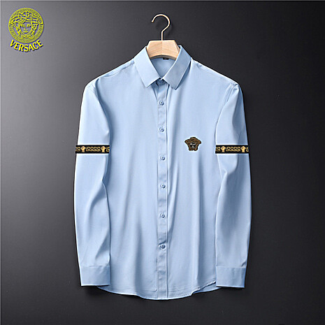 Versace Shirts for Versace Long-Sleeved Shirts for men #465732 replica
