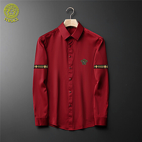 Versace Shirts for Versace Long-Sleeved Shirts for men #465733 replica