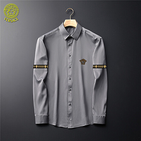 Versace Shirts for Versace Long-Sleeved Shirts for men #465734 replica