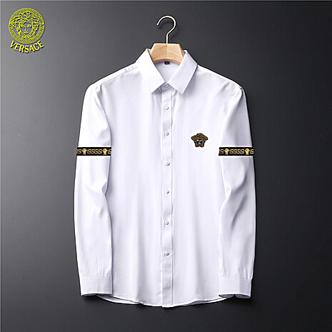 Versace Shirts for Versace Long-Sleeved Shirts for men #465735 replica