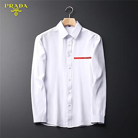 Prada Shirts for Prada long-sleeved shirts for men #465855 replica